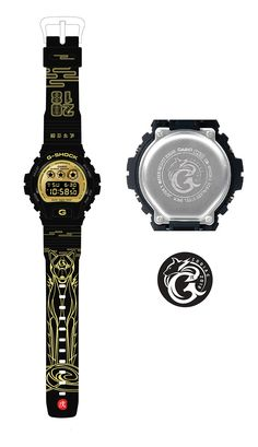 G-Shock DW-6900CB-1CNY18 and Chinese Zodiac 2018