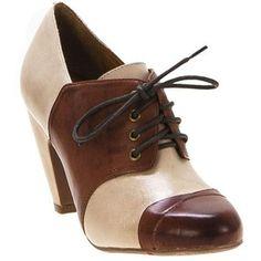 Miz Mooz saddle shoes - interesting - back to the 1920s and 1930s look. I'm kinda liking these..