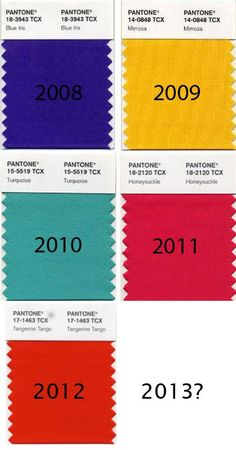 Pantone's color of the year via apartment therapy