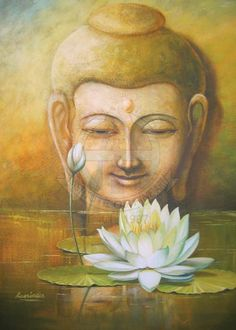 Latest Paintings, Photography, Art & Craft Work of Himanshu Art Institute Students Budha Painting, Clock Painting, Dot Art Painting, Lord Buddha Wallpapers, Buddha Artwork, Buddha Sculpture, Indian Art Paintings, India Art, Krishna Art
