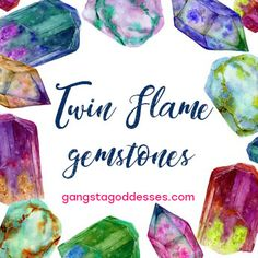 The most powerful crystals & gemstones to assist you on your Twin Flame journey - The Twin Flame Tribe Twin Flame Love, Twin Flames, Healer, Crystals And Gemstones, Tarot, Twins, Spiritual, Therapy, Journey