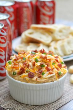 Spicy Coca-Cola Cheese Dip with Bacon #ShareYourSpirit #ad @walmart