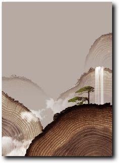 reminds me of petrified wood Chinese Style, Chinese Art, Chinese Element, Xingu, Chinese Painting, Installation Art, Sculpture Art, Modern Art, Illustration Art