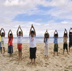 Children perform Yoga naturally