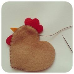 Diy And Crafts, Crafts For Kids, Arts And Crafts, Felt Christmas Ornaments, Christmas Crafts, Fabric Crafts, Sewing Crafts, Craft Projects, Sewing Projects