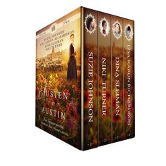Discover four heroines in historical Austin, TX, as they find love--Jane Austen style. Austin Texas, Swatch, Jane Austen Novels, Romances, Heroines, Authors, Lisa, Christian, Books