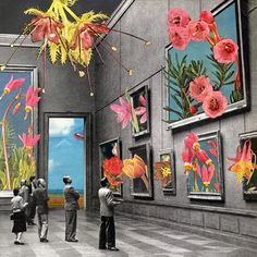 Natural History Museum via Eugenia Loli Collage. Click on the image to see more!