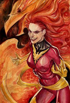 comicbookartwork:  Dark Phoenix