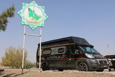 On the road across Turkmenisthan Camper, Fiat Ducato, Camping Car, Iran, Road Trip, Turkey, Trucks, Vehicles, Caravan