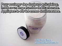 soulagez vos articulations douloureuses avec du bicarbonate