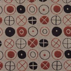 Ray Eames textile in the Art Institute of Chicago