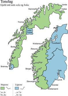 Trondheim, Stavanger, Kristiansund, Map, World, Location Map, Maps, The World