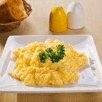 how to make scrambled eggs like restaurants