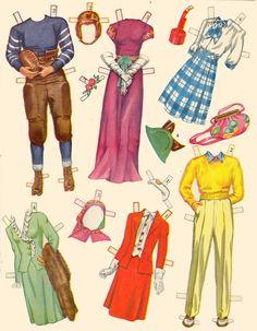 Paper Dolls and Wardbroe box 1944 - Bobe Green - Picasa Web Albums