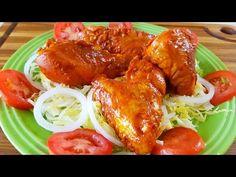 POLLO ENCHILADO AL ESTILO DE VERACRUZDELICIOSO! - YouTube Chile Chipotle, Chile Guajillo, Achiote, Beef Enchiladas, Tandoori Chicken, Salads, Appetizers, Pasta, Dishes