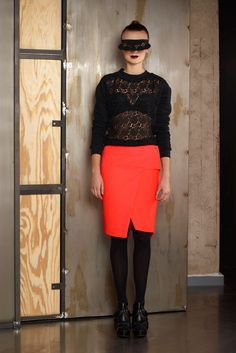 Lookbook AW2012/13 Praying Mantis, Contemporary Fashion, Fashion Labels, Leather Skirt, Skirts, Design, Leather Skirts, Skirt