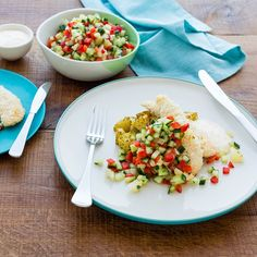 My Food Bag - Nadia Lim - Recipes - Coconut Chicken with Curried Potatoes and Pineapple Salsa Kiwi Recipes, Pineapple Salsa, Coconut Chicken, Summer Evening, I Foods, Food Inspiration, Chicken Recipes, Clean Eating, Potatoes