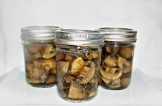 The how to: Pressure Canned Mushrooms
