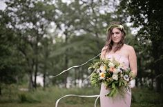 Woodsy Glamour Bridal Shoot {Bella Notte Photography}