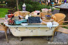 #Multiplicity #Outdoor #Garden #Venue #Wedding #DessertTable