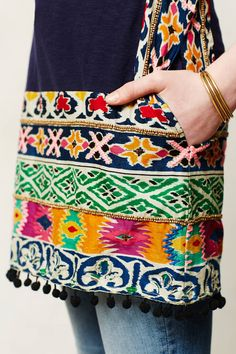 Tinamou Stitched Tunic