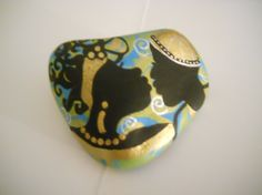 Culturraly Accented Paperweight 2 by simplygail on Etsy, $15.00