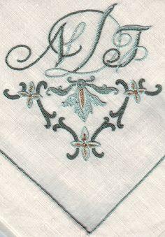 STUNNING beauvais monogram