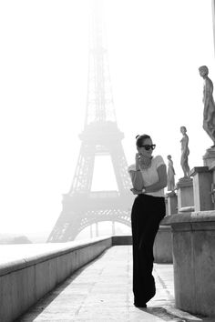 black and white in paris