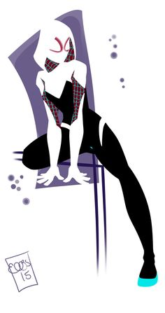 Spider Gwen by EllisArts.deviantart.com on @DeviantArt