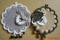 presina agnello uncinetto | Hobby lavori femminili - ricamo - uncinetto - maglia
