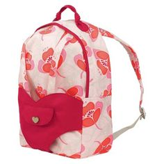 Our Generation Doll Carrier Backpack - White