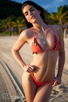 Hilary Rhoda - Sports Illustrated Swimsuit 2009 Location: Canouan Island, The Grenadines, Raffles Resort Photographed by: Raphael Mazzucco