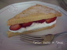 Tartan Tastes in Texas: Scottish Recipes - Strawberry Shortbread Creams