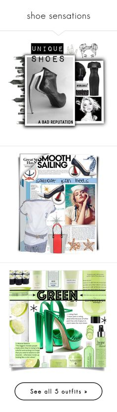 """shoe sensations"" by coastalcatches ❤ liked on Polyvore featuring WALL, Nails Inc., Iris & Ink, Casetify, OPI, Thom Browne, Pia Rossini, Chanel, Bling Jewelry and sailing"
