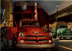 Past Print: Illustrations from past decades / part 8 / Peter Helck