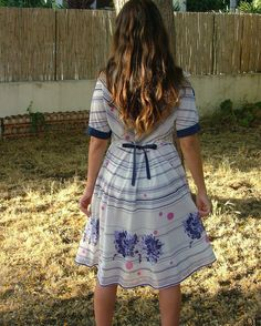 Vintage Dress.Women's Clothing.Size M by shpirulina on Etsy