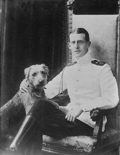 Prince Andrew of Greece and Denmark, father of Prince Philip, Duke of Edinburgh.
