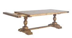 Chaddock Dining Room Country English Double Pedestal Trestle Table CE0919 - Chaddock - Morganton, NC