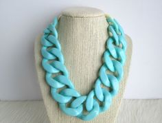 Chunky necklaces for summer