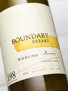 Boundary Breaks Vineyard on Packaging of the World - Creative Package Design Gallery