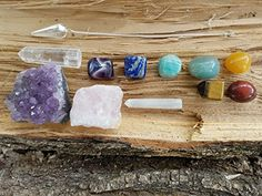 12 piece Chakra Stones Healing/Balancing Kit includes Cha... https://www.amazon.com/dp/B071G9CHVW/ref=cm_sw_r_pi_dp_x_pNn4zbWZS9F86 I love these!! #Lifestyleonfire #Iwasinvited #AD