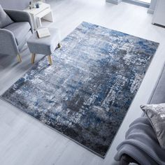 These abstract designs are an on-trend go-to for many modern homes. The contemporary colourways make these modern rugs stand out, letting them be a centre piece for your space. The short polypropylene pile ensures that these designs will stay looking f Navy Living Rooms, Rugs In Living Room, Living Room Decor, Contemporary Rugs, Modern Rugs, Modern Homes, Centre Pieces, Grey Rugs, Navy Blue Rugs