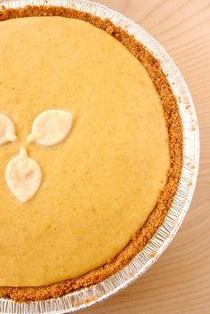 Pumpkin Cheesecake with a Ginger Browned Butter Crust