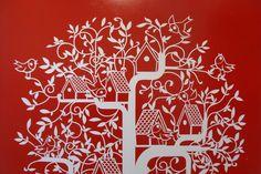 Detalle de Mural Pajarera