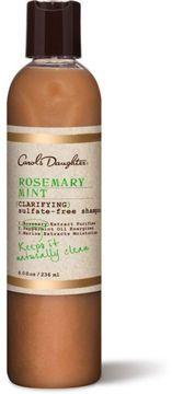 Carol's Daughter Rosemary Mint Clarifying Shampoo. Real good for build up and for locks.