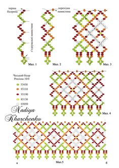 Diy Necklace Patterns, Jewelry Patterns, Beading Patterns, Beading Projects, Beading Tutorials, Jewelry Knots, Beaded Jewelry, Fabric Origami, Bead Loom Bracelets