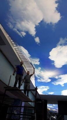 Beylikdüzü Reis otel gergi tavan çalışmamız