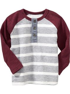 Raglan-Sleeved Tees for Baby Product Image