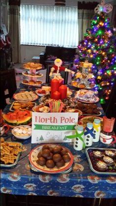 North pole breakfast North Pole Breakfast, Breakfast Ideas, Waffles, Food, Morning Tea Ideas, Essen, Waffle, Meals, Yemek