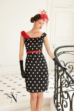 Midi De Vestidos Mejores Imágenes 112 Dresses Lunares Cute xqCa0n4EUw